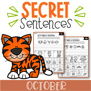 October Secret Sentences