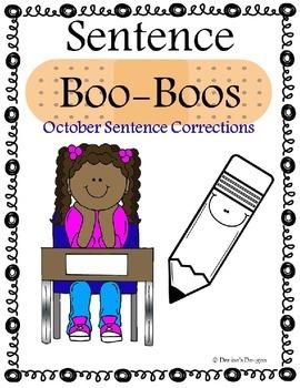 Editing Sentences - October