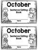 October Sentence Editing