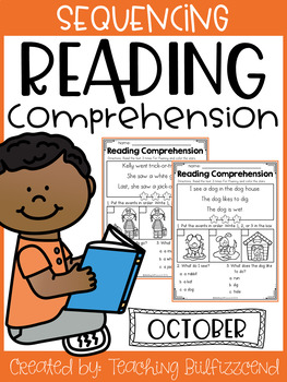 October Sequencing Reading Comprehension