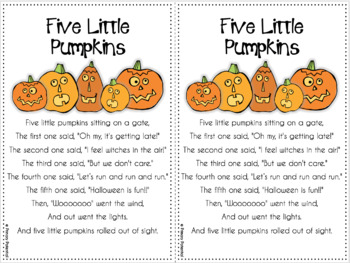October Shared Reading: Poems and Lesson Plans