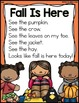 October Shared Reading (Sight Word Poems)
