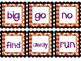 October Sight Word Game