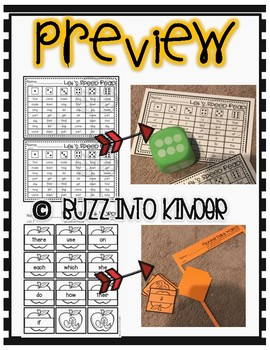 October Sight Word Games for 100 Fry Words