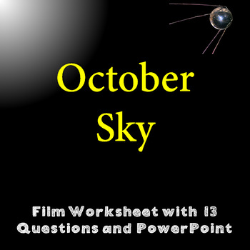 October Sky Questions Worksheets Teaching Resources TpT