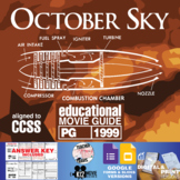 October Sky Movie Guide | Questions | Worksheet  (PG - 1999)