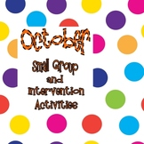 October Small Group Intervention Pack