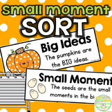 October Small Moment Sort