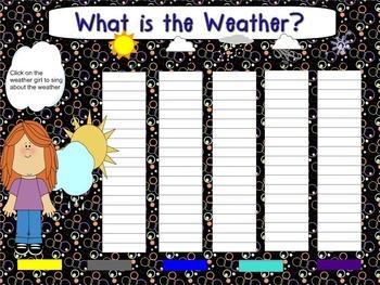Smartboard Calendar October
