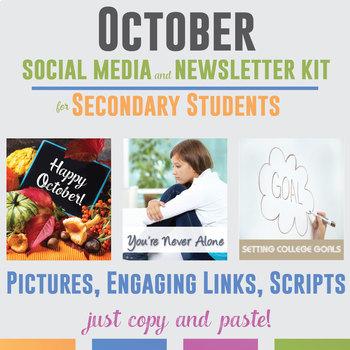 October Social Media and Newsletter Kit