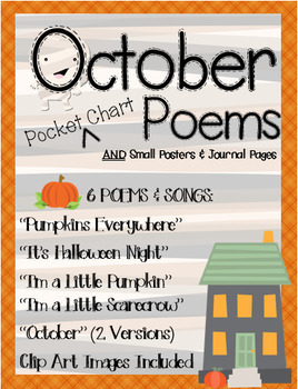 October Songs & Poems