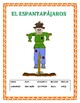 October Spanish Calendar-Days of the Week/Holidays/ Intera