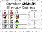 October Spanish Literacy Centers