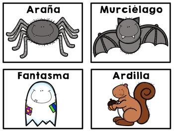 October Spanish Literacy Centers