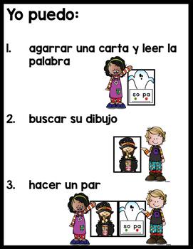 October Spanish Literacy Station