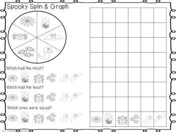 October---Spin and Graph Activities
