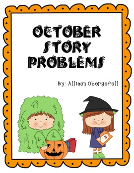 October Story Problems