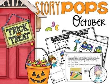 October Story Starter Sticks