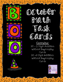 October Task Card Bundle - 2 and 3 Addition Without Regrouping