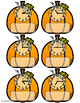 October Telling Time File Folders for Special Education
