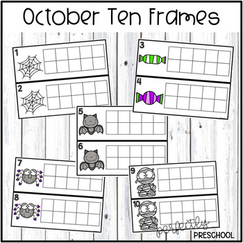 October Ten Frames