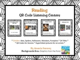 October Theme (Halloween, etc.) Listen to Reading QR Code Cards