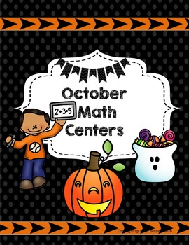 BOO! Halloween or Fall Math Centers 4th Grade aligned to UNIT 2 Everyday Math