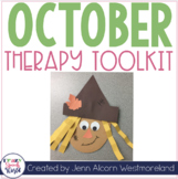#Oct2017SLPmusthave October Theme Therapy for Speech and Language