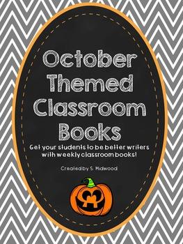 October Themed Classroom Books