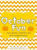 October Themed Literacy Activities