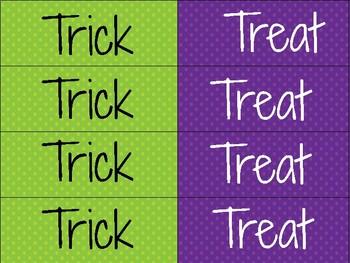 October Math Centers (Halloween)
