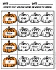 October-Themed First Level Sight Word Centers