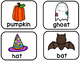 October Themed Syllable Sort Station / Kindergarten