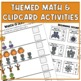 October Themed Unit (w/ Halloween icons) for ELA & Math in