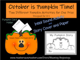 October Time is Pumpkin Time!