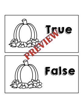 October True False Fact Sort