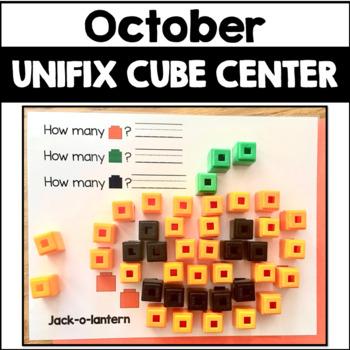 October Activity Unifix Cube Math