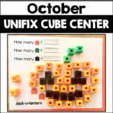 October Activity Unifix Cube Math
