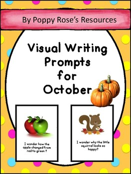 October Visual Writing Prompts