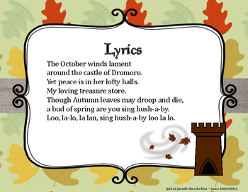 October Winds - An Autumn Folk Song w/ Orff Instrument Accompaniment