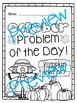 October Word Problems Pack & Math Interactive Notebook Activities!