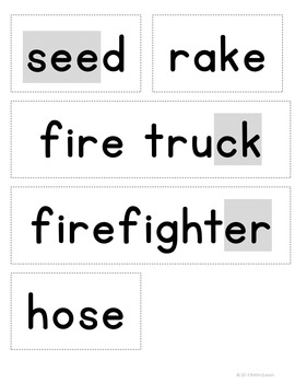 October Word Reference Phonics and Spelling Lesson