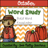 Word Study and Interactive Notebook: October