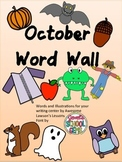 October Word Wall