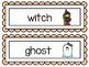 October Word Wall