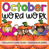 Word Work: October