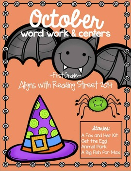 October Word Work and Centers