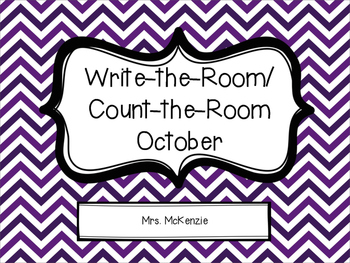 Write/Count the Room: October