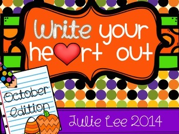 October Write Your Heart Out