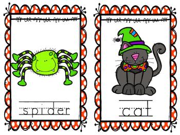 October Write the Room Halloween Activities